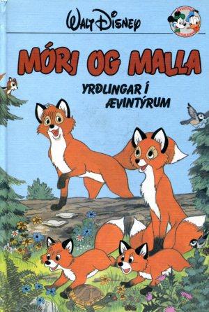 Móri og Malla yrðlingar í ævintýrum - Walt Disneybók