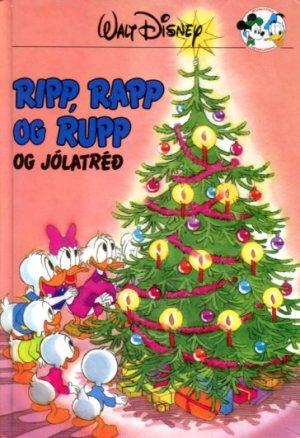 Ripp Rapp og Rupp og jólatréð - Disneybók