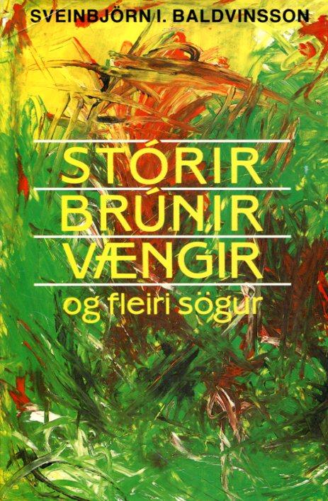 Stórir brúnir vængir - Sveinbjörn I Baldvinsson