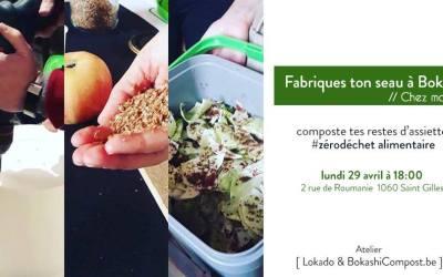 Lokado – Ton seau à Bokashi en matériel recyclé