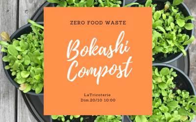 ZeroFoodWaste – Composter avec le Bokashi