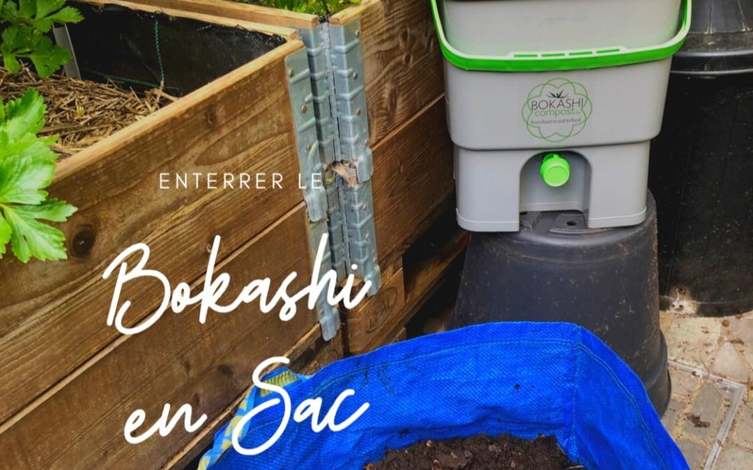 Enterrer son Compost Bokashi? L'affaire est…dans le sac!