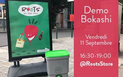 Après-midi Démo Bokashi Compost
