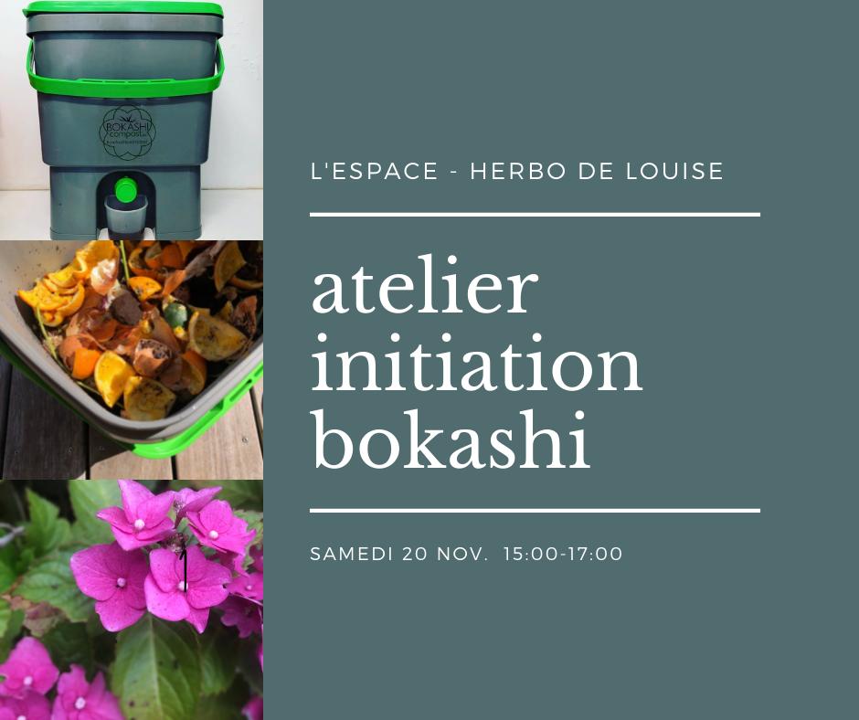 atelier initiation bokashi compostage
