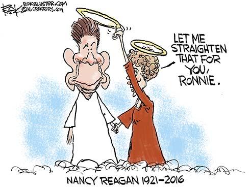 Nancy Reagan died Sunday at age 94.