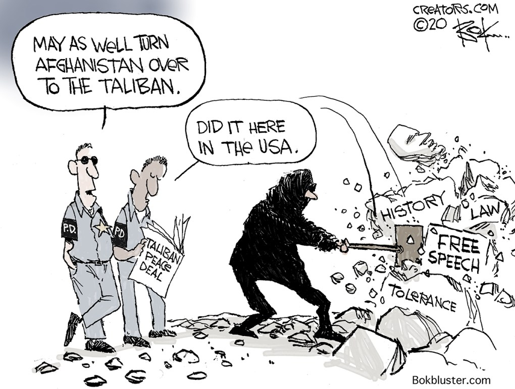 American Taliban Re-writing History Again - Bokbluster.com
