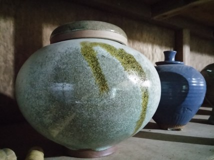 Finished products at Sagada Pottery House