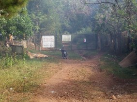 Gate somewhere along the Pestano Farm Trail