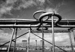 Gas Plant Black & White