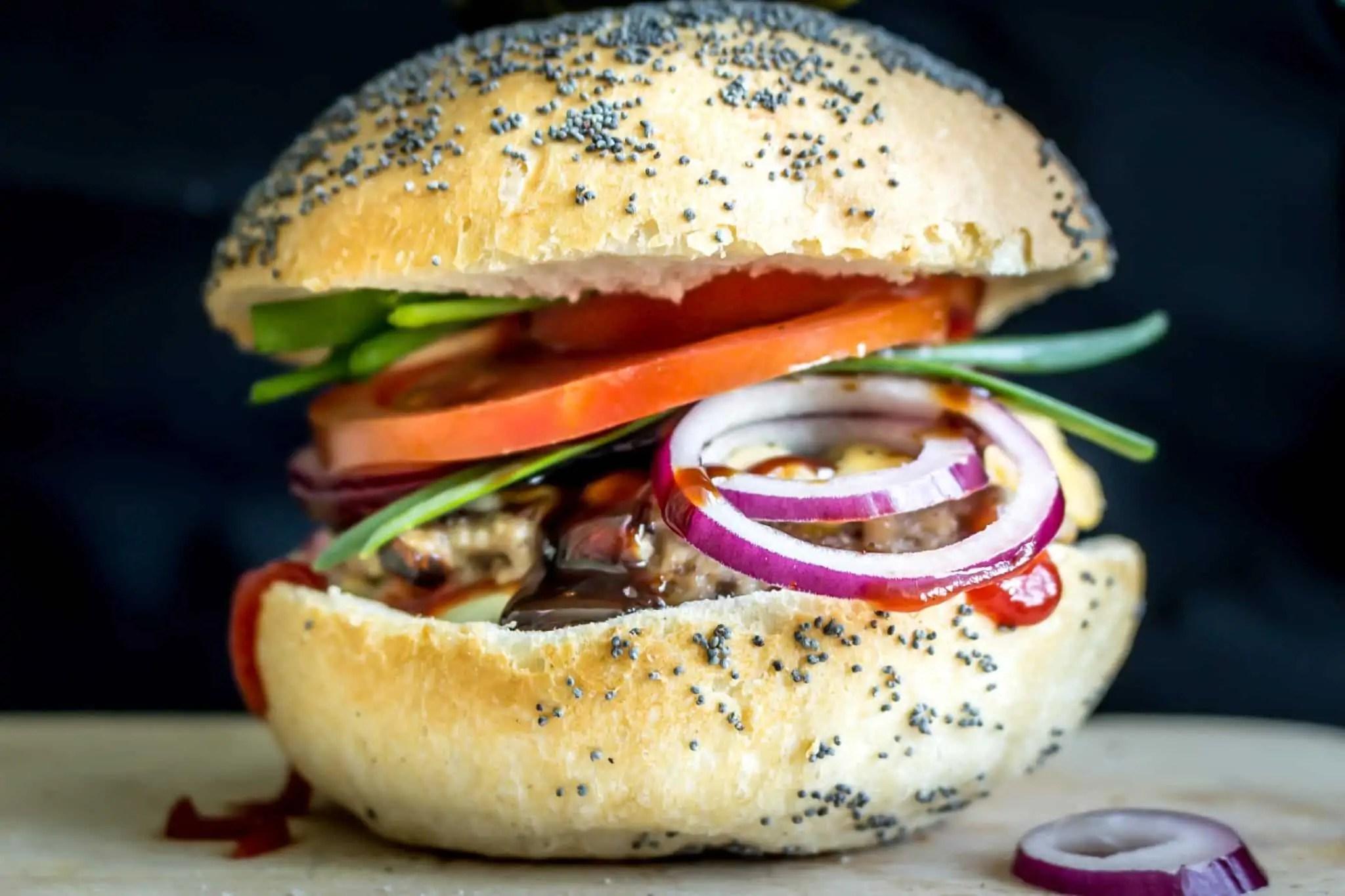 burger 1 scaled - Fotografie do druku