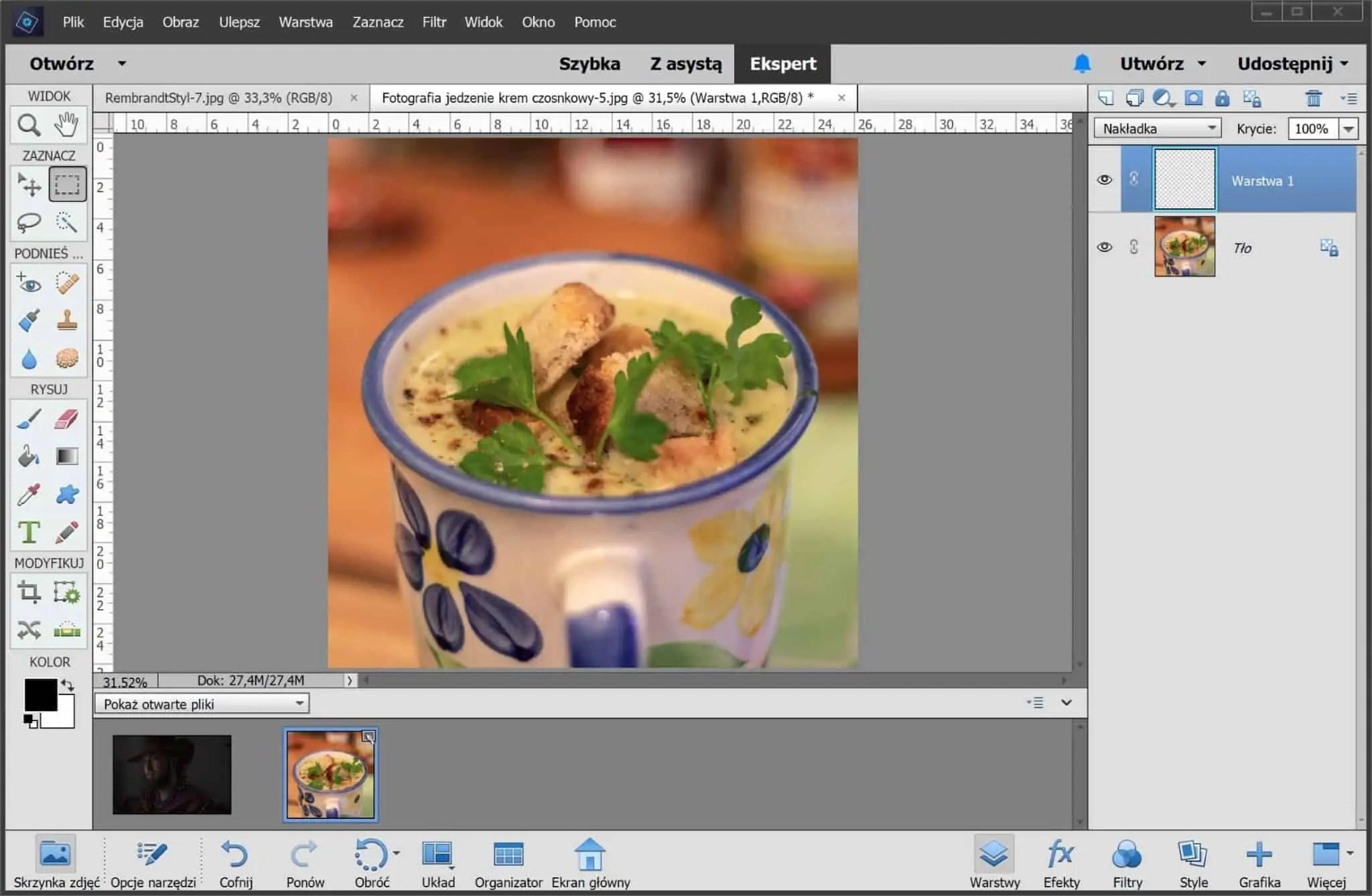 Photoshop elements ekran główny scaled - Affinity photo - alternatywa dla photoshopa