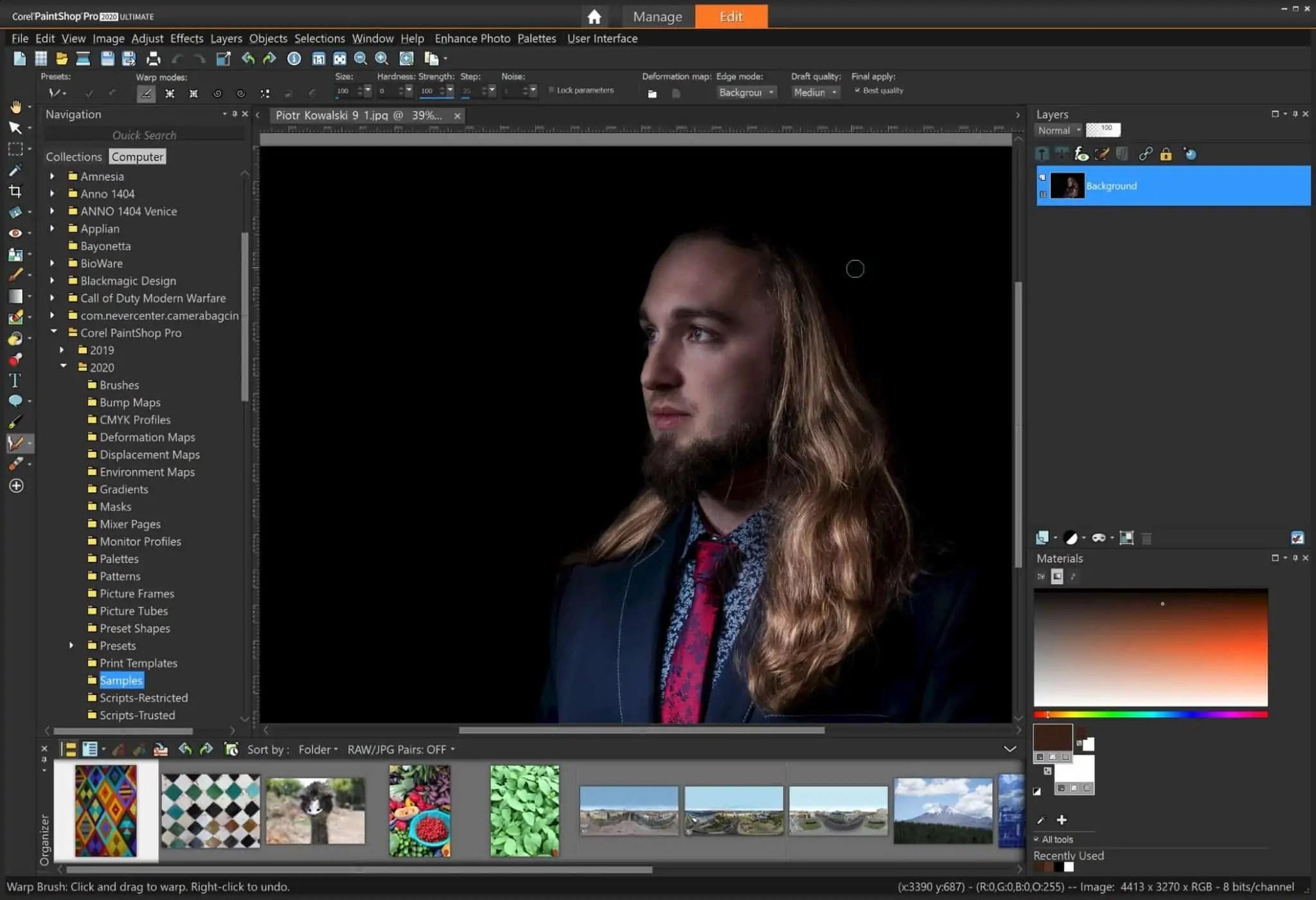 corel paint shop pro scaled - Affinity photo - alternatywa dla photoshopa