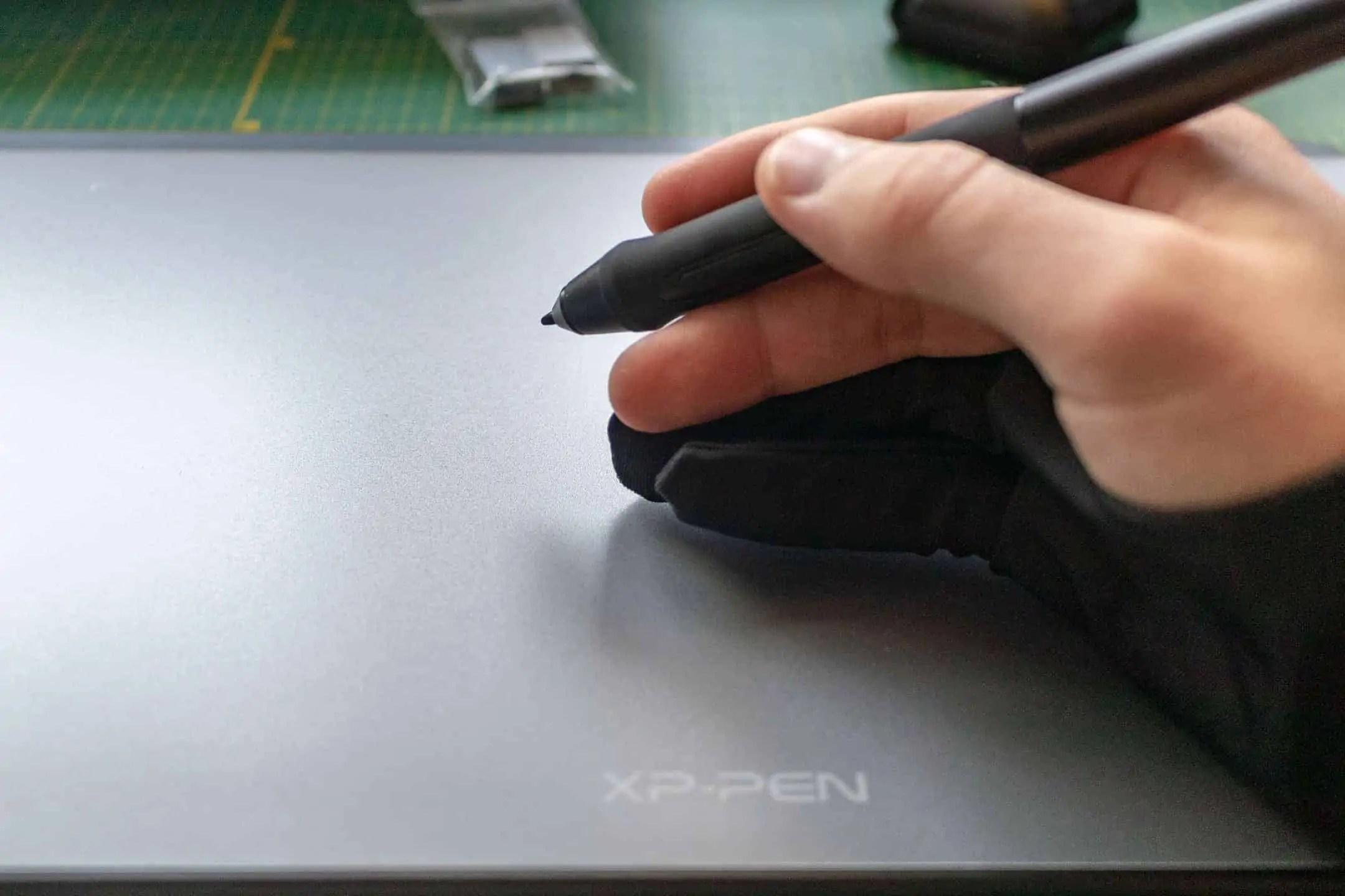 Obrobka zdjec czyli praca na tablecie graficznym z rekawiczka xp pen deco 01 v2 - Praca z tabletem graficznym XP PEN Deco 01 v2