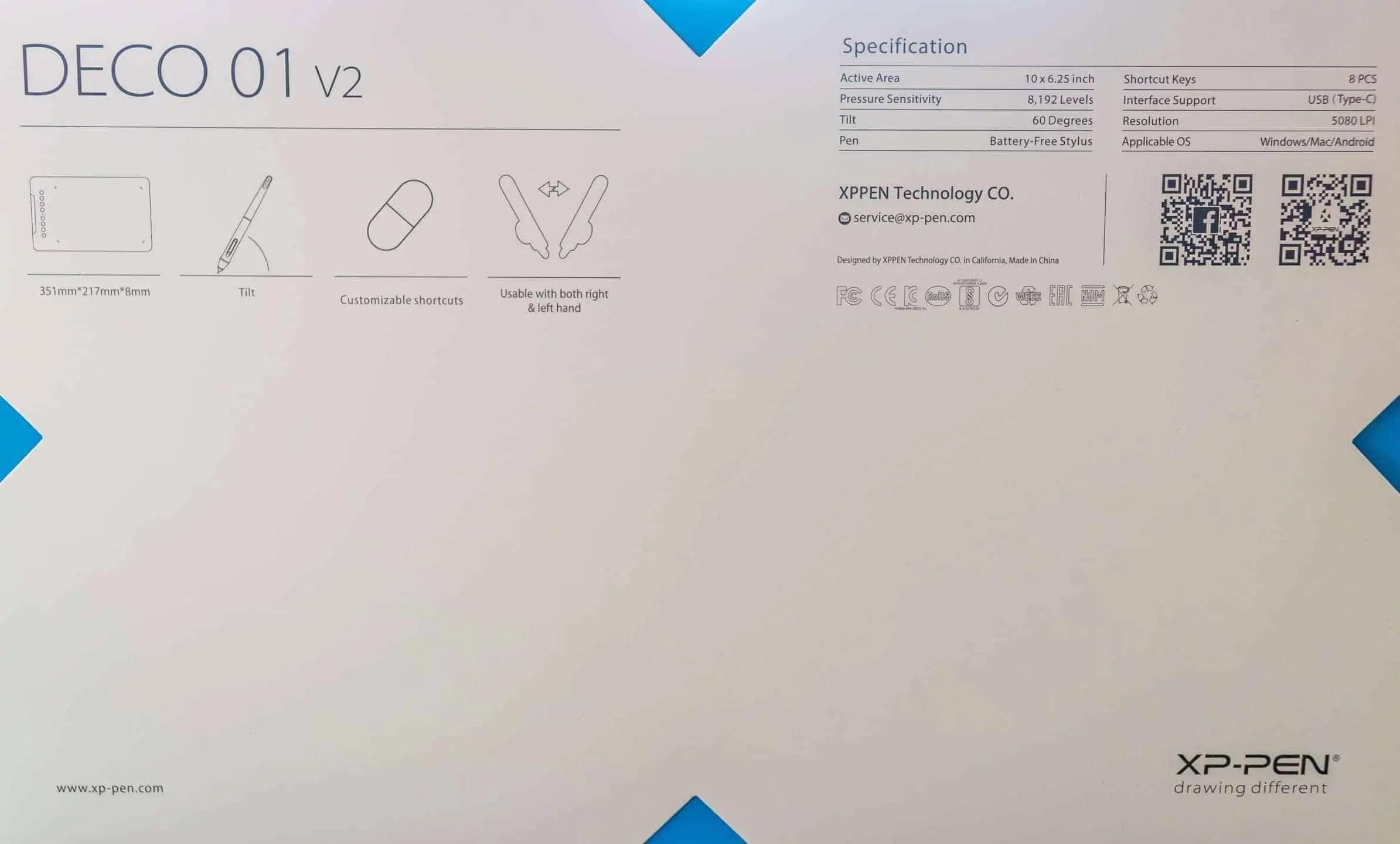 Praca z tabletem XP PEN Deco 01 v2 4 - Praca z tabletem graficznym XP PEN Deco 01 v2