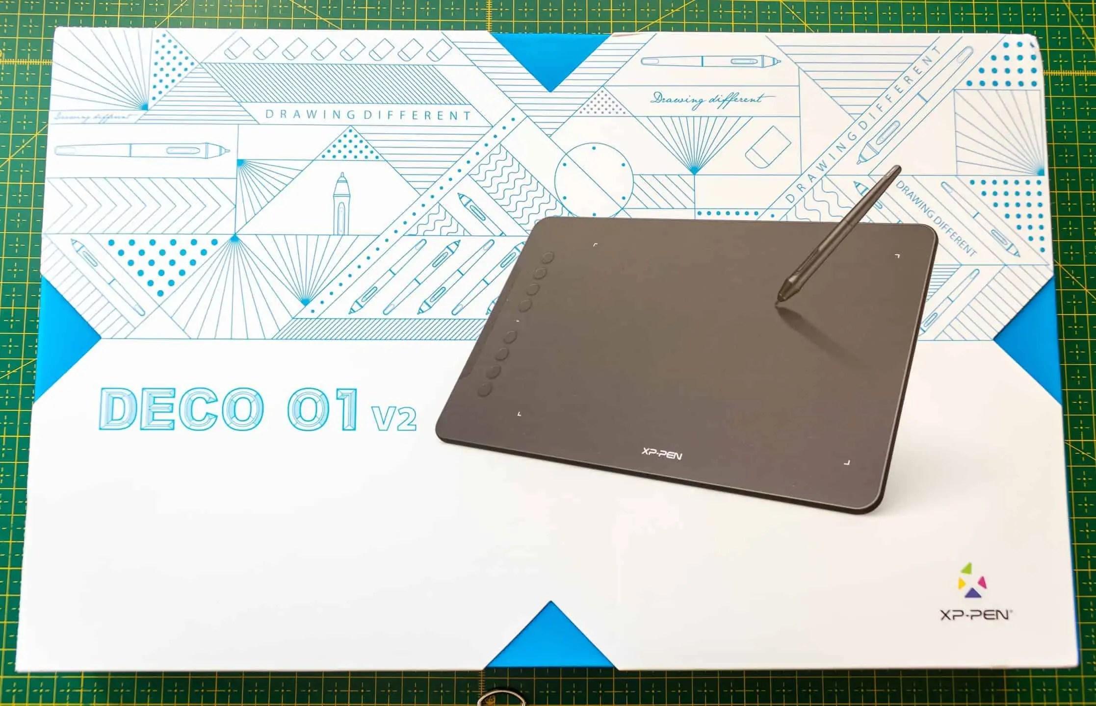 Tablet xppen deco 01 opakowanie - Praca z tabletem graficznym XP PEN Deco 01 v2