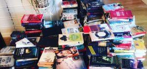 Bokhaug, gjenbruk av bøker, loppemarked, brukte bøker
