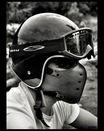 leather mask