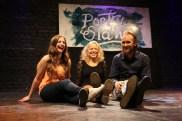 Poetry slam har ordnats flera år i Ekenäs. Här Sara Avdi, Olivia Bergdahl och Daniel Nyman fån 2013.