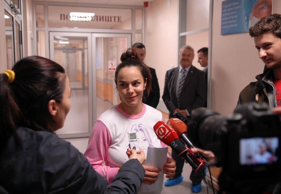 Ana Nerić prva porodilja u porodilištu Kompanije Boksit