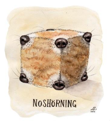 noshörning illustration ordvits