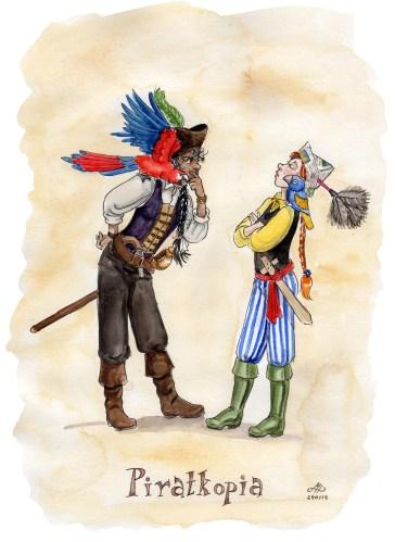 piratkopia illustration ordvits