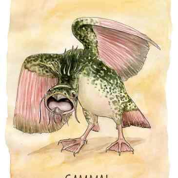 gammal illustration ordvits