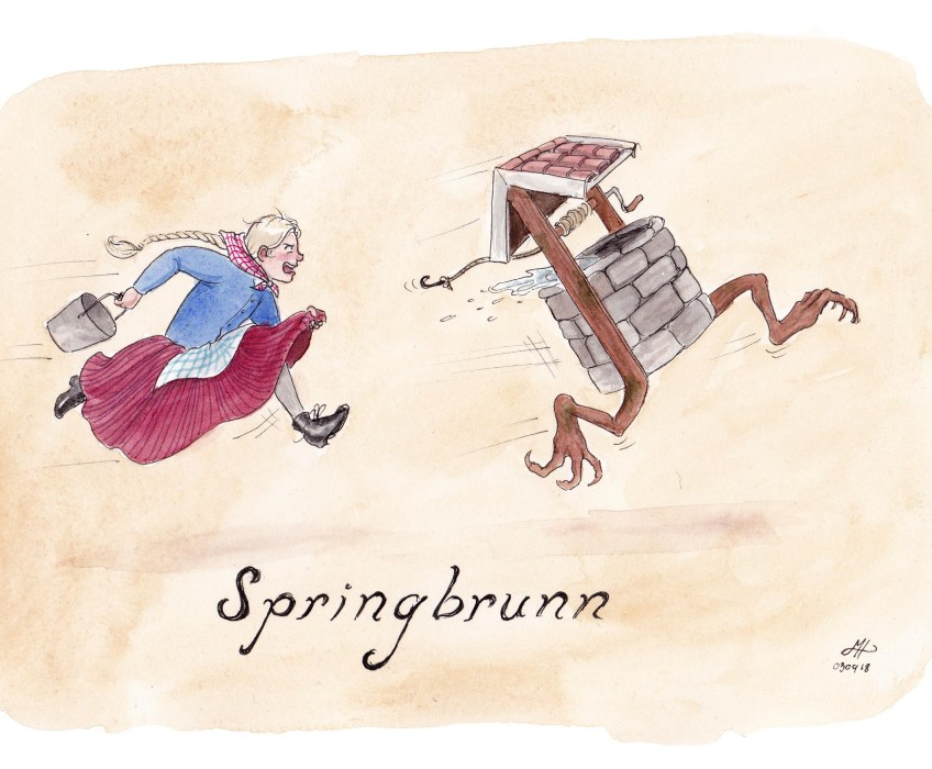 springbrunn illustration ordvits
