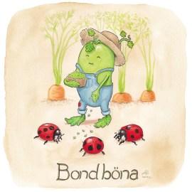 bondböna illustration ordvits