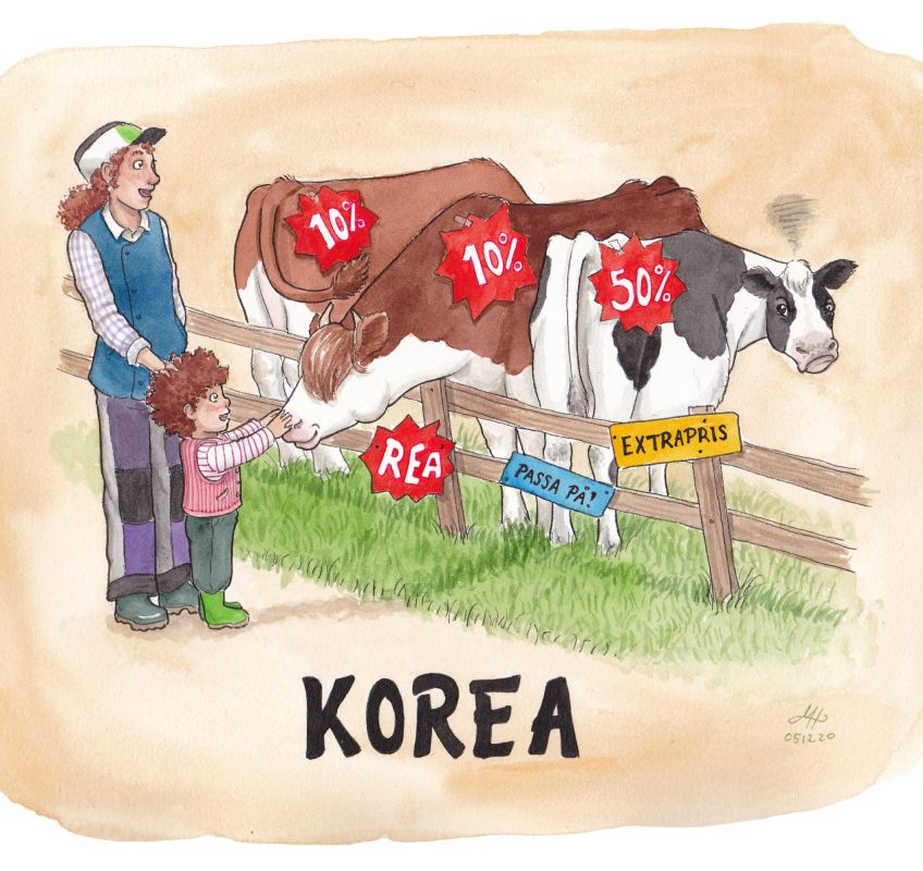 korea illustration ordvits