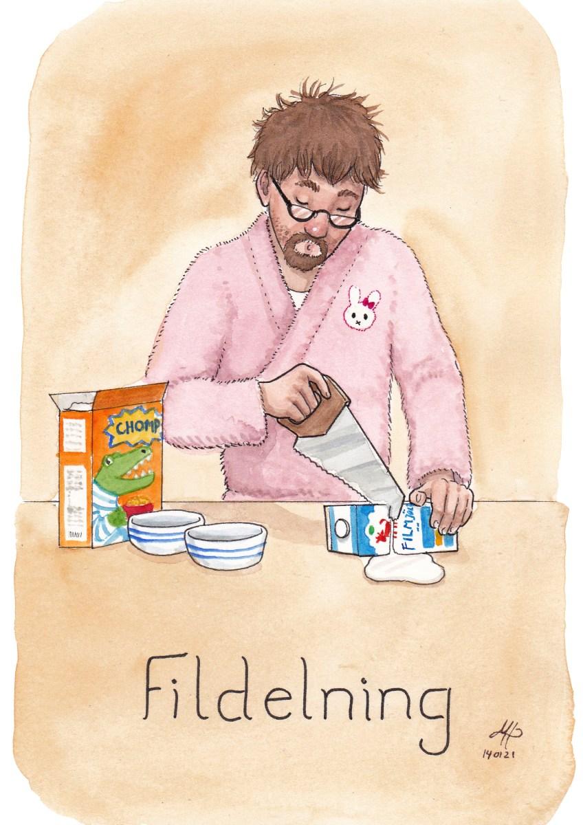 fildelning illustration ordvits