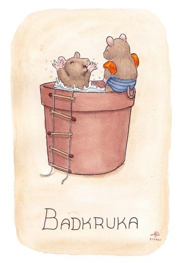 badkruka illustration ordvits
