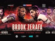 Gala w Sheffield: Kell Brook - Michael Zerafa