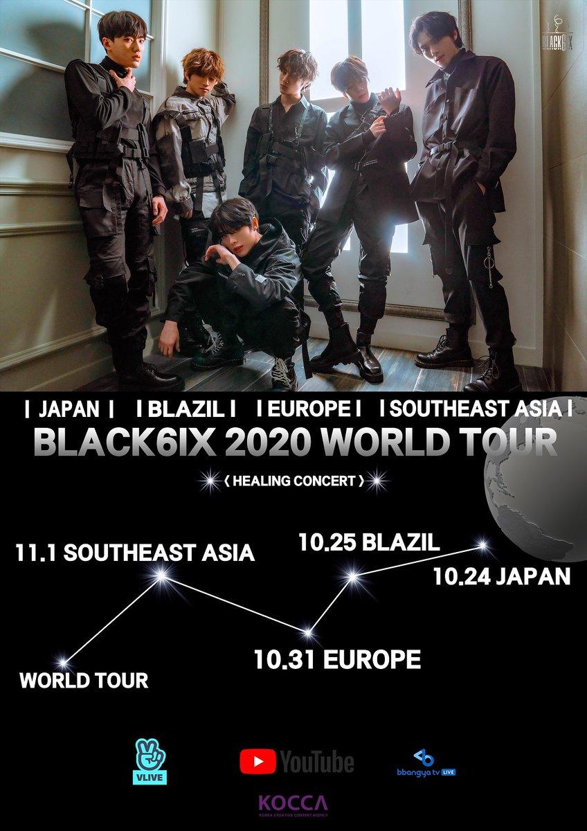 BLACK6IX 2020 WORDL TOUR