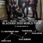 世界で活躍するK-POPボーイズ【BLACK6IX】「2020 WORLD TOUR」無料オンラインライブ開催決定!