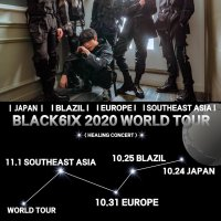 BLACK6IX 2020 WORDL TOUR