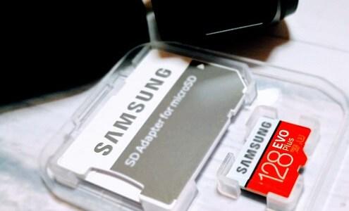 「いくぞSDカード。書き込み速度は十分か?」 OSMO POCKET用にサムスン『EVO Plus』を購入し、書き込み速度テストをやった結果