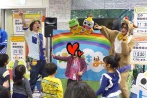 また会えるよね♪パナソニックさんのイベント!出張あそびうたコンサート2日目♪大阪市北区の梅田クリスタルホールにて★