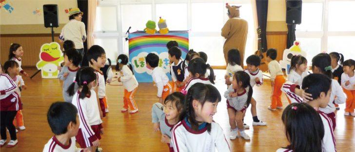 幼稚園の父母会企画・お楽しみ会イベントに出張