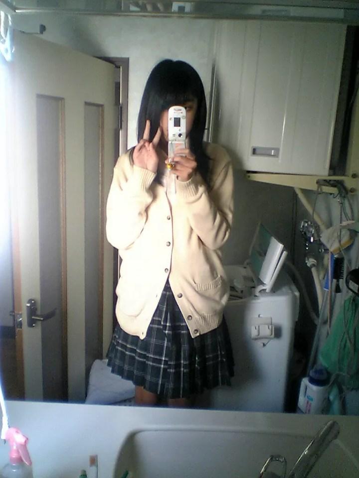 女子高生の心霊写真