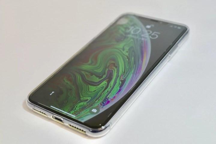 iphoneXsMAXのケース付き