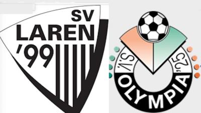 SV Laren '99 – SV Olympia: 3-4