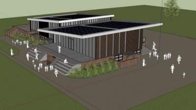 Bouw nieuw clubgebouw SV Laren '99 ligt op schema