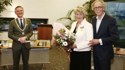 Maria Klingenberg neemt afscheid van de raad en ontvangt Koninklijke Onderscheiding
