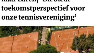 Even voorsorteren: door Wim Jordaan, Larens behoud