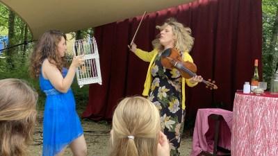 Opera en plein air:  verrassende 'Händel goes Tinder' bij Groene afslag