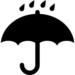 black-opened-umbrella-symbol-with-rain-drops-falling-on-it_318-61522