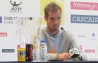 Gasquet: «Estou muito surpreendido com esta vitória»