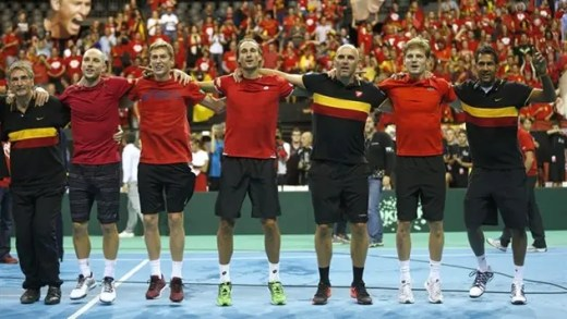 Bélgica e Grã-Bretanha na final do Grupo Mundial