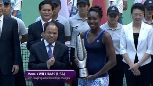 A campeã voltou: Venus vence Wuhan e aproxima-se de Singapura