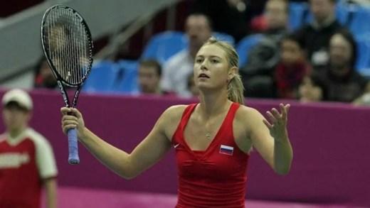 Agente de Sharapova diz que «esta» será a sua última vez na Fed Cup